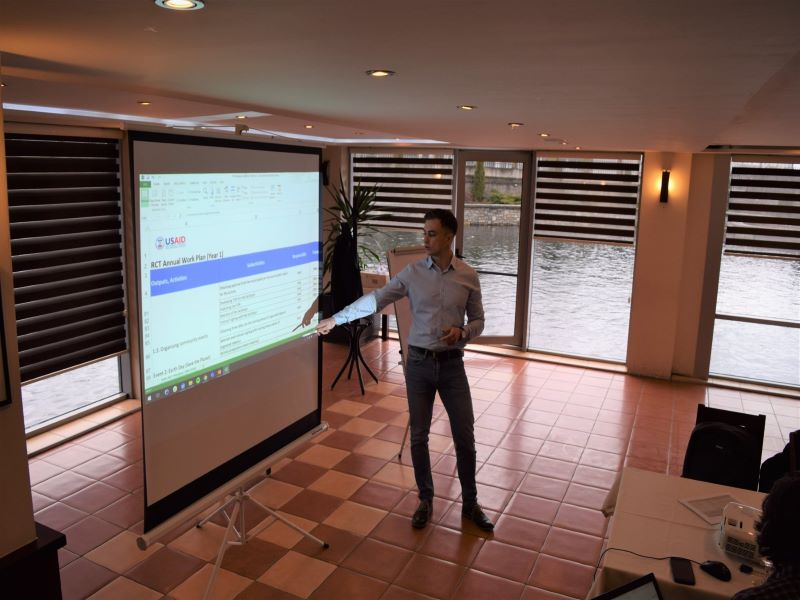 Istog/Istok hosted CBM this Tuesday for a workshop