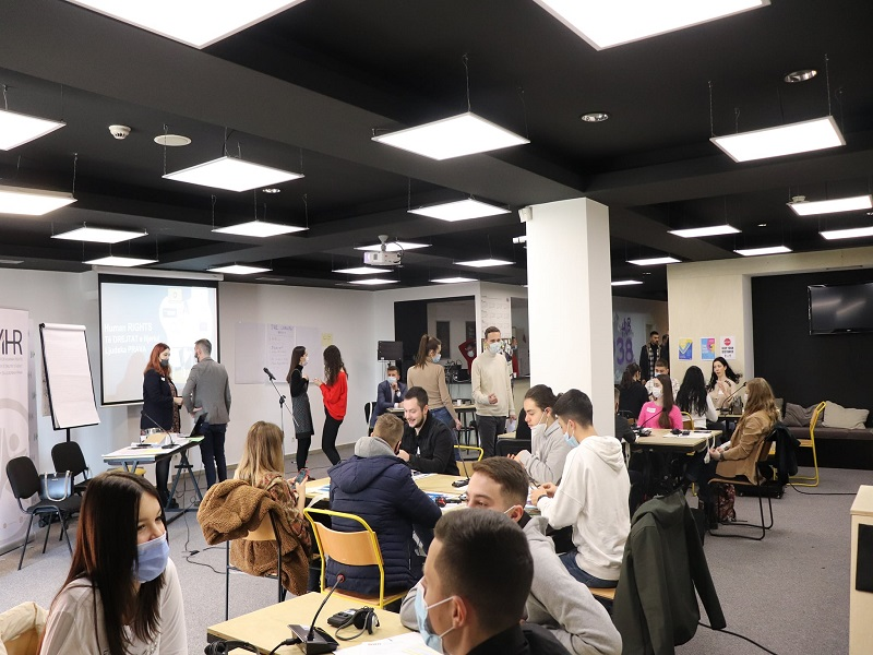 World Cafe Activity Brings Young People Together