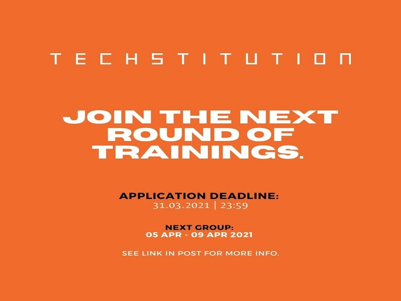 Become the Next Techstitution Training Participant!