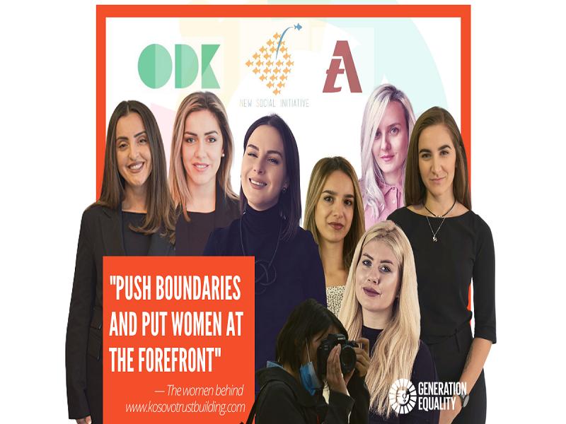 Women-led Ngos Fuel the Kosovo Trustbuilding Platform