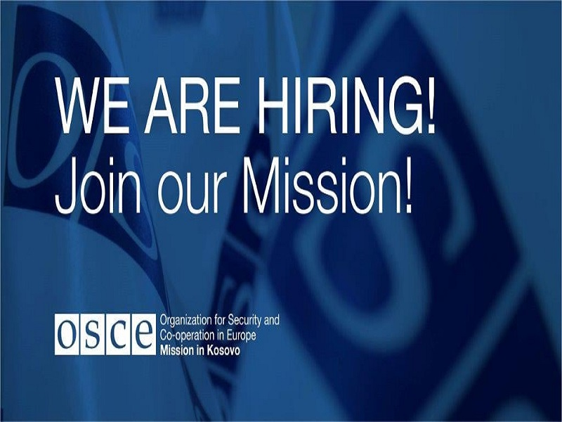 OSCE is Hiring!