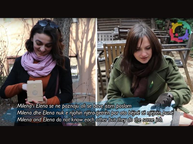 Small masterpieces: When Elena and Milena make jewelry