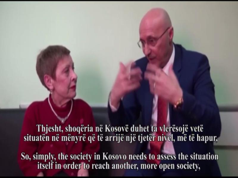 Talk with Hiljmnijeta Apuk – Fatmir Sheholli