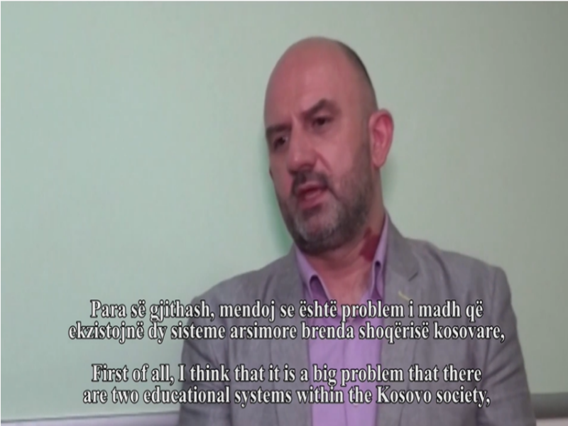 Talk with Hiljmnijeta Apuk - Veljko Samardzic