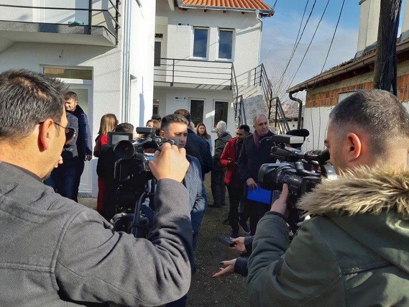 Eight Returnee Families in Gjakovë/Đakovica Municipality Moved into Their New Houses