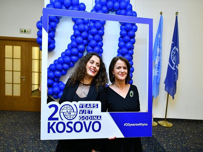 IOM Kosovo Marks 20 Years Of Service