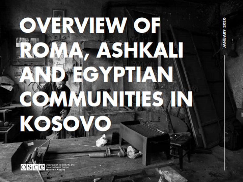 Overview of Roma, Ashkali and Egyptian Communities in Kosovo