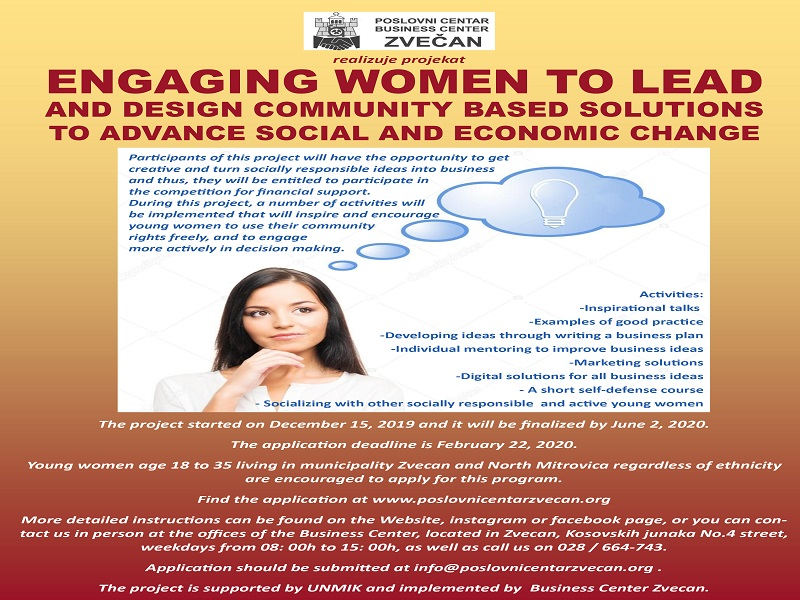 Engaging women to lead and design community