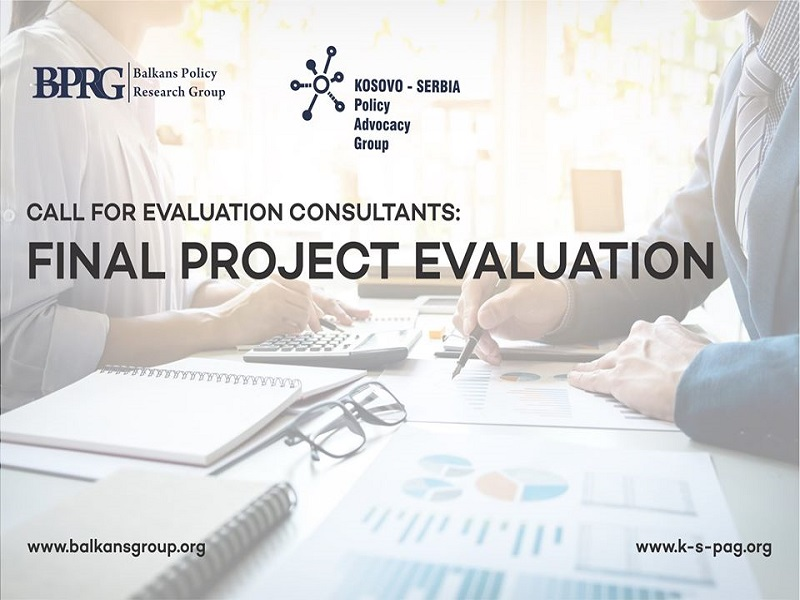 Call for evaluation consultants: Final project evaluation
