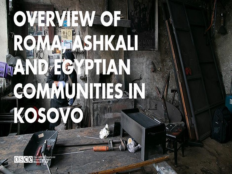 Overview of Roma, Ashkali and Egyptian communities in Kosovo / OSCE