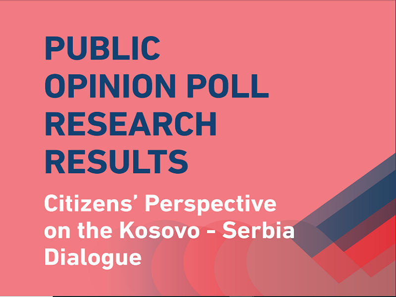 KDI Opinion poll: Citizens' Perspective on the Kosovo - Serbia Dialogue