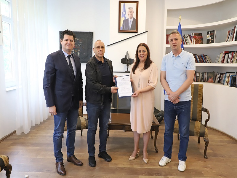 The development of football competitions in Kosovo is allowed