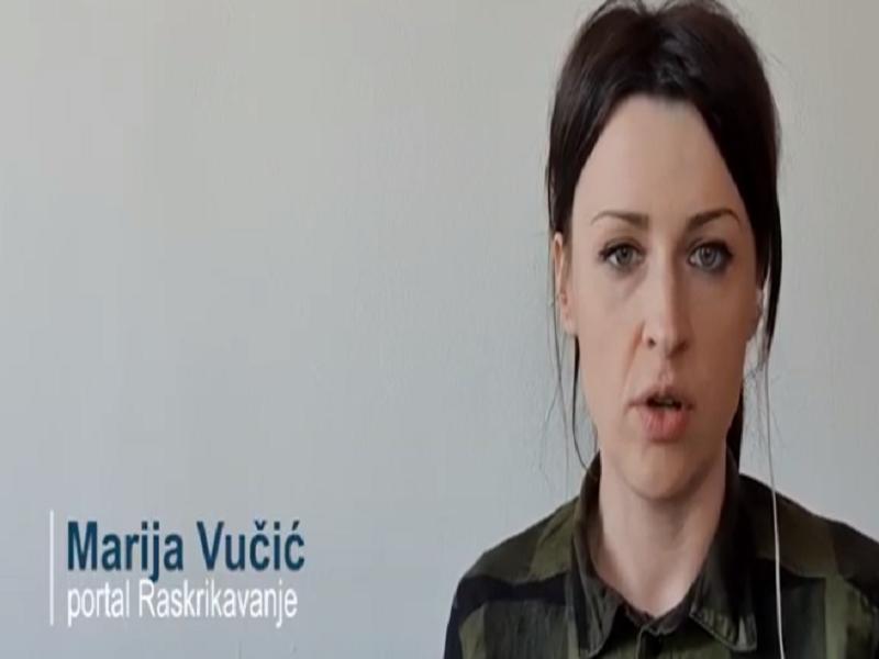 OpisMEDIJavanje with Marija Vučić