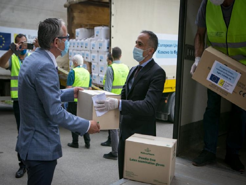 EU delivers 2nd instalment of its €5M emergency assistance to Kosovo
