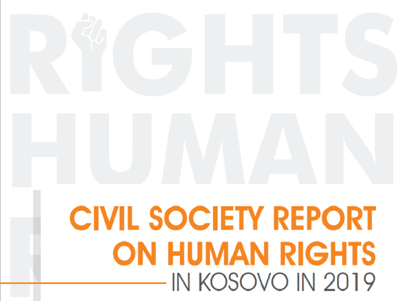 Kosovo Civil Society Organizations Jointly Publish Their First Annual Human Rights Report