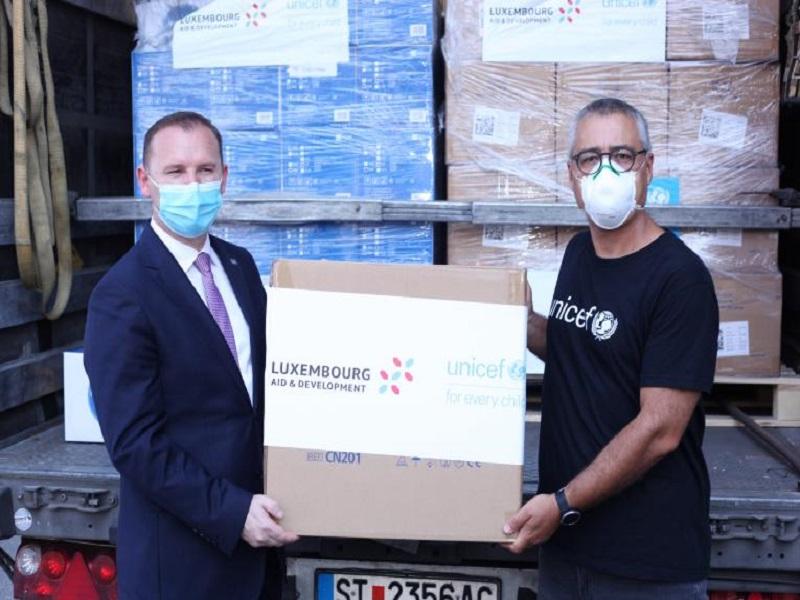 Odgovor UNICEF-a na COVID - 19 na Kosovu