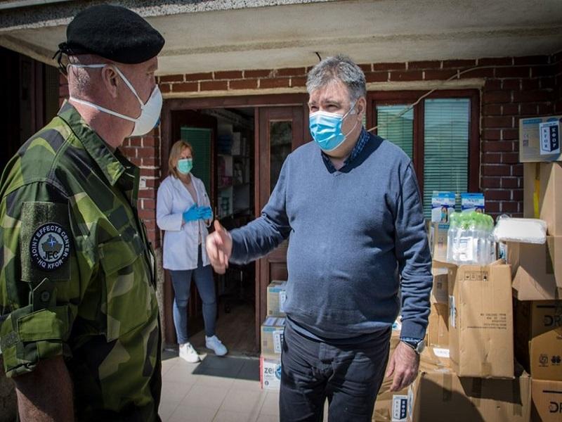 KFOR-ove vredne donacije u vreme pandemije: Solidarnost i podrška!
