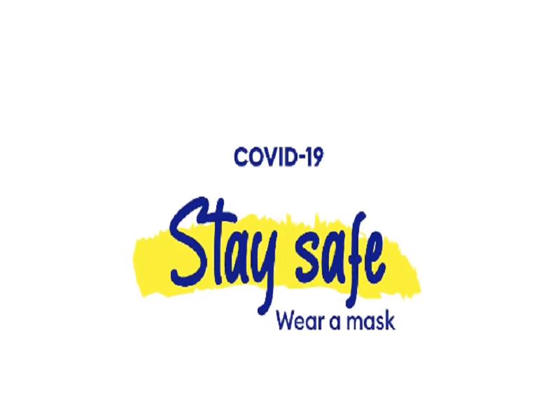 Stay safe. Wear a mask!