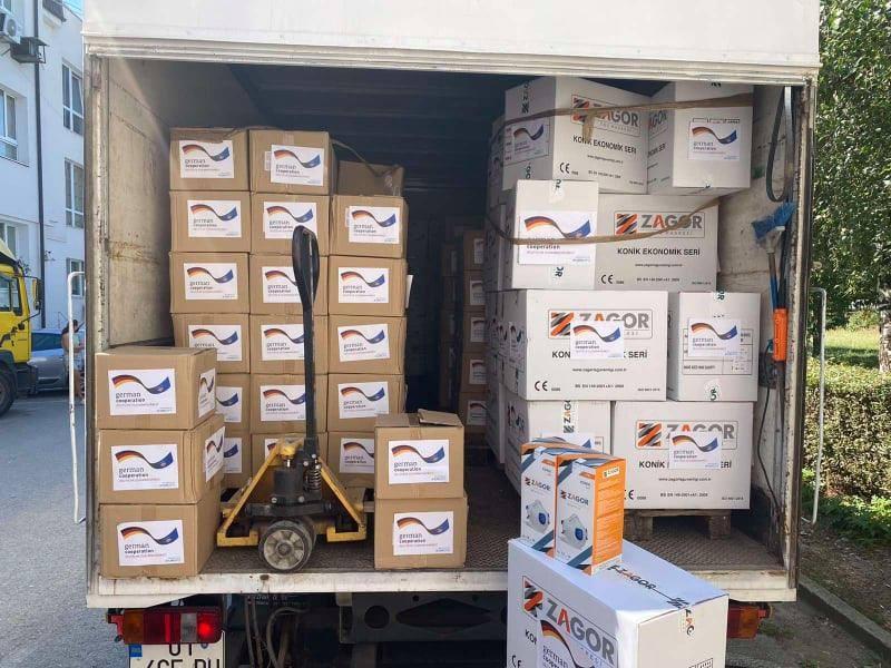 Donacija Nemačke: Kontigent zaštitnih sredstava za borbu protiv COVID-19