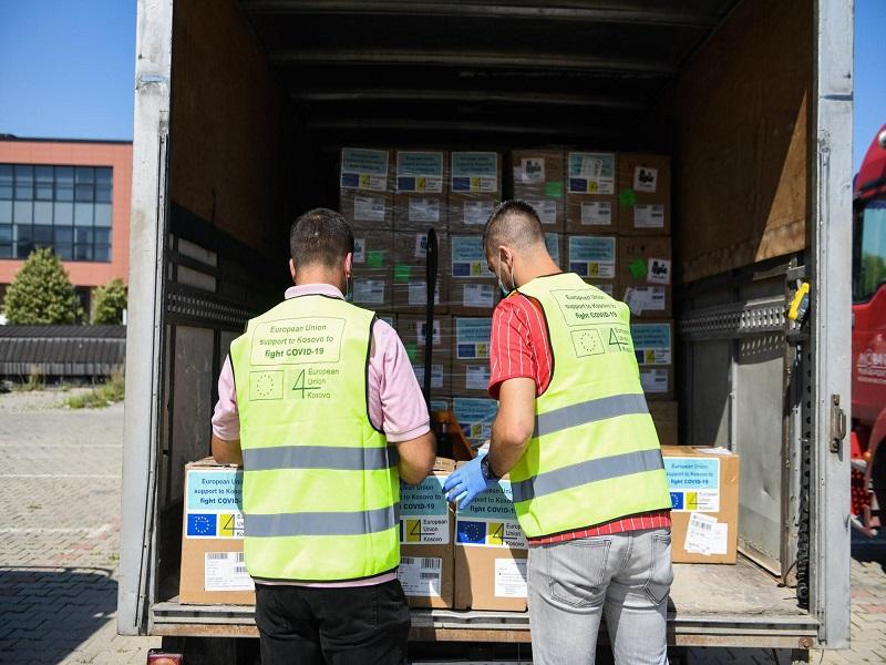 EU dostavila još jedan deo svoje pomoći Kosovu