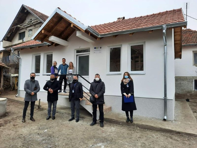 Five more new Houses Handed-over and Harmonized Assistance Packages Delivered to IOM EU-RRK V Beneficiaries